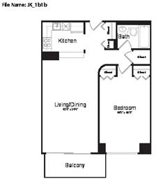 1 Bedroom, Garment District Rental in NYC for $3,810 - Photo 1