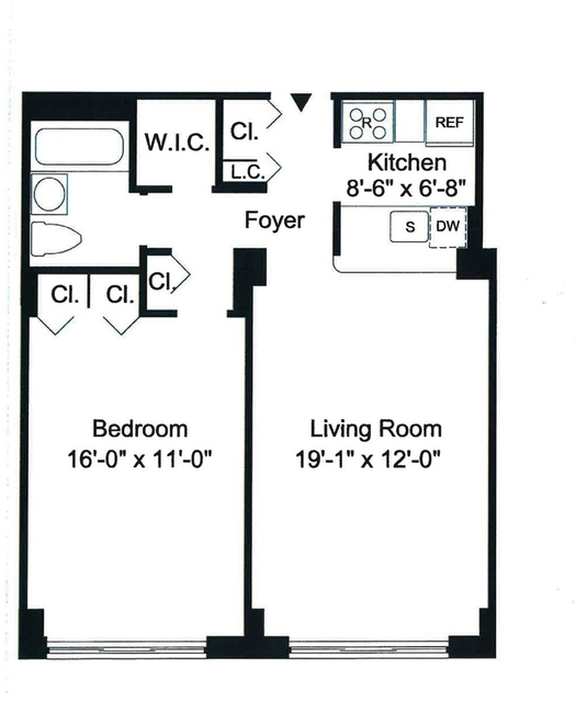1 Bedroom, Yorkville Rental in NYC for $3,208 - Photo 2