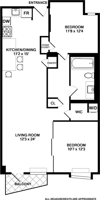 2 Bedrooms, Bowery Rental in NYC for $5,500 - Photo 2