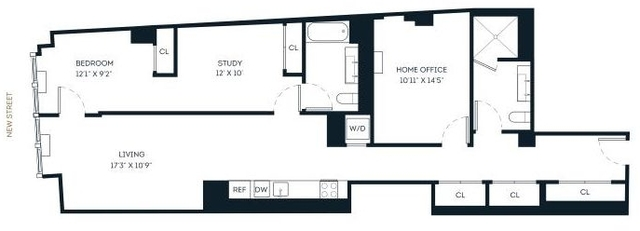 1 Bedroom, Financial District Rental in NYC for $3,657 - Photo 2