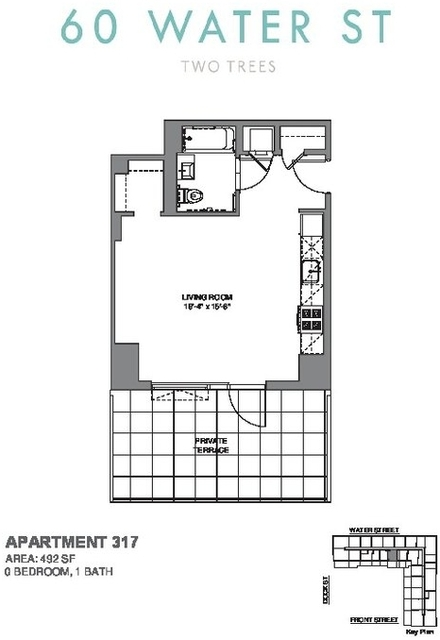 Studio, DUMBO Rental in NYC for $3,490 - Photo 1
