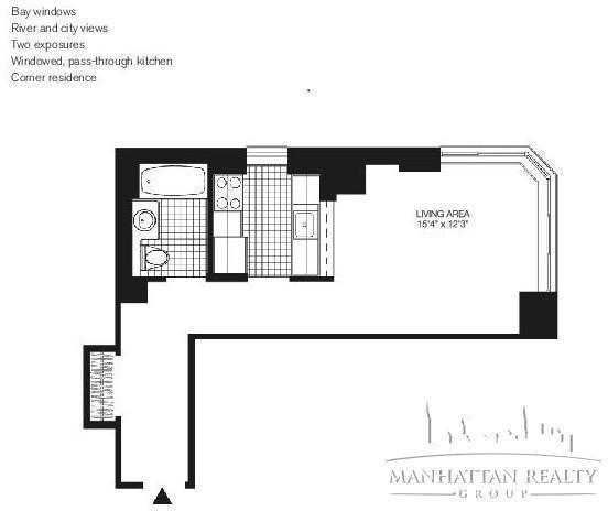 Studio, Yorkville Rental in NYC for $2,550 - Photo 1