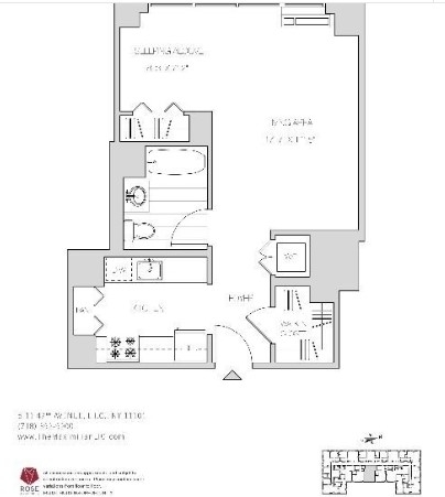Studio, Hunters Point Rental in NYC for $2,995 - Photo 2