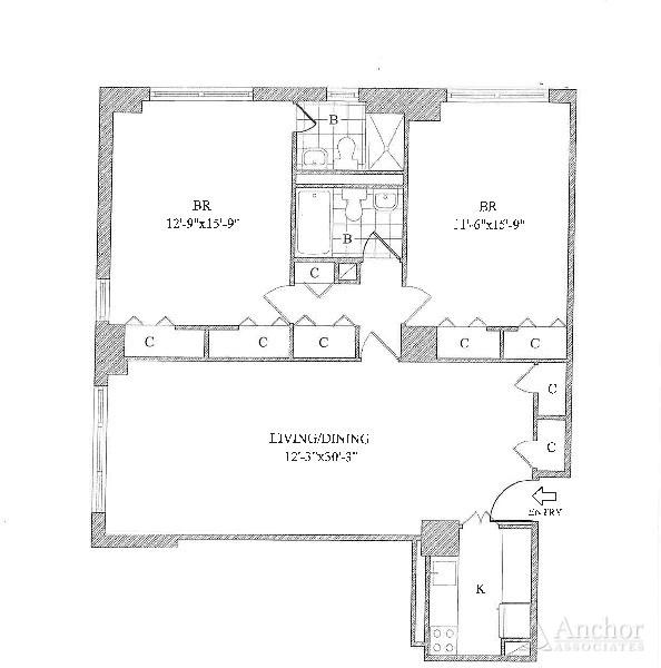 2 Bedrooms, Yorkville Rental in NYC for $5,718 - Photo 2