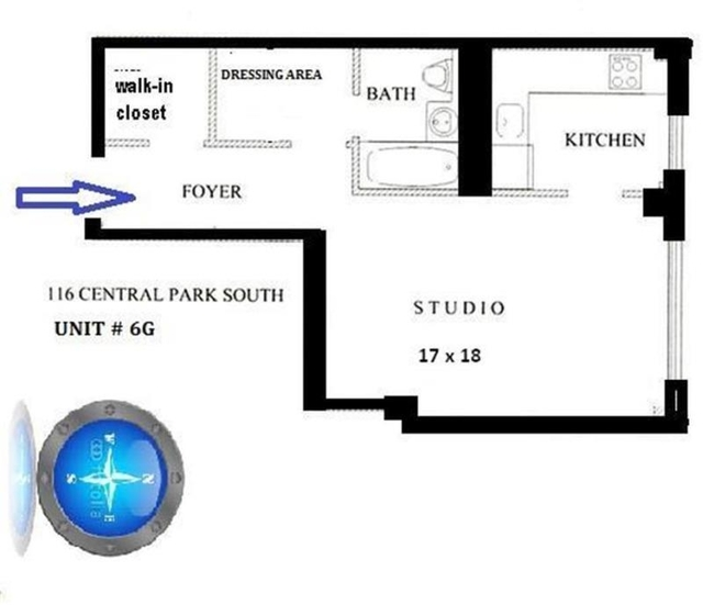 Loft, Theater District Rental in NYC for $3,199 - Photo 2