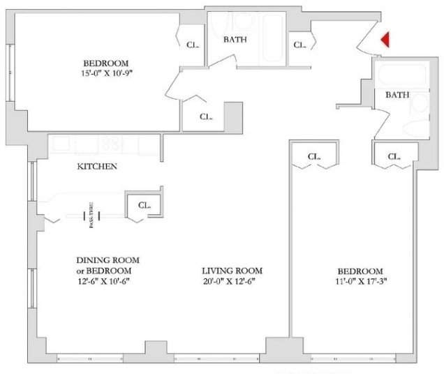 2 Bedrooms, Rose Hill Rental in NYC for $5,615 - Photo 2