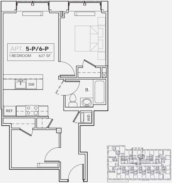 1 Bedroom, DUMBO Rental in NYC for $4,240 - Photo 2