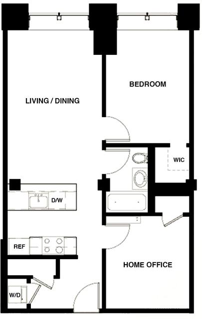 1 Bedroom, DUMBO Rental in NYC for $4,304 - Photo 2