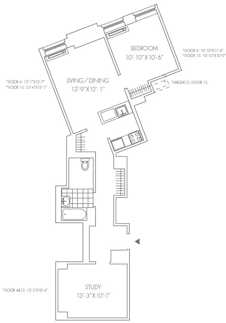 1 Bedroom, Financial District Rental in NYC for $4,795 - Photo 2