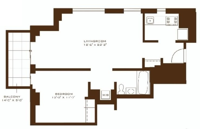 1 Bedroom, Gramercy Park Rental in NYC for $4,998 - Photo 2
