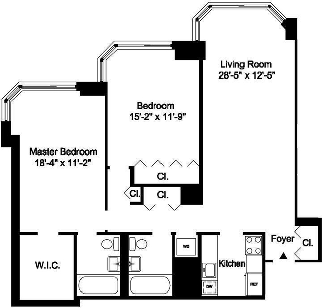 2 Bedrooms, Yorkville Rental in NYC for $5,795 - Photo 2