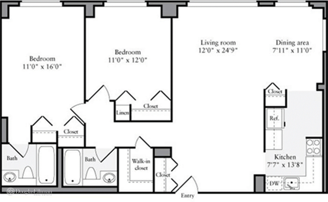 2 Bedrooms, Manhattan Valley Rental in NYC for $6,070 - Photo 2
