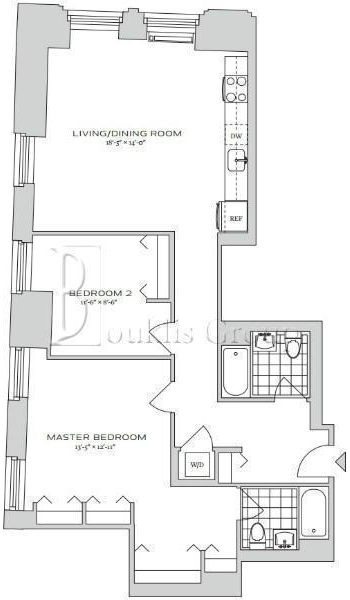 2 Bedrooms, Financial District Rental in NYC for $5,990 - Photo 1
