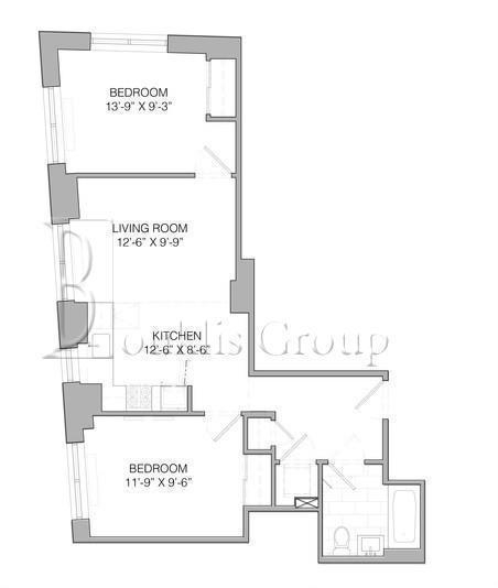 2 Bedrooms, Financial District Rental in NYC for $3,797 - Photo 2