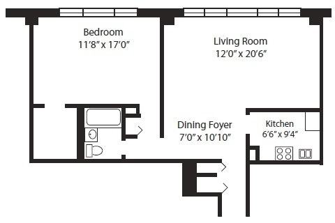 2 Bedrooms, Yorkville Rental in NYC for $4,075 - Photo 2