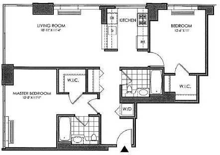 2 Bedrooms, Yorkville Rental in NYC for $4,703 - Photo 2