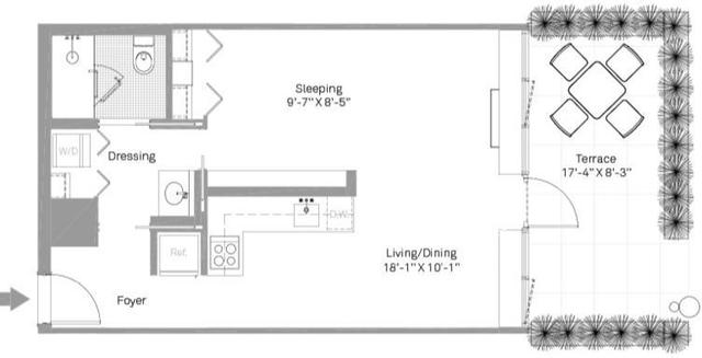 1 Bedroom, Stapleton Rental in NYC for $1,799 - Photo 2
