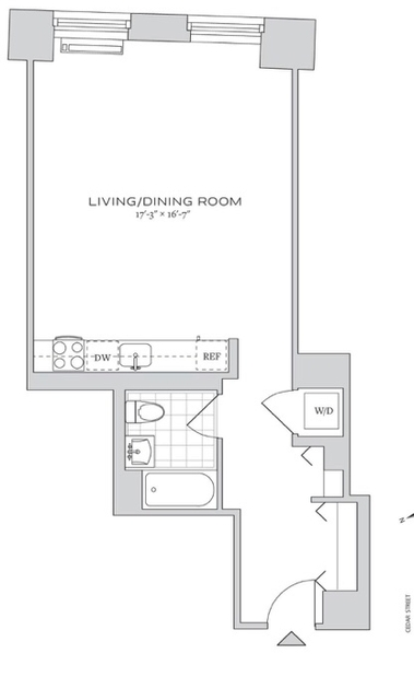 Studio, Financial District Rental in NYC for $2,891 - Photo 2