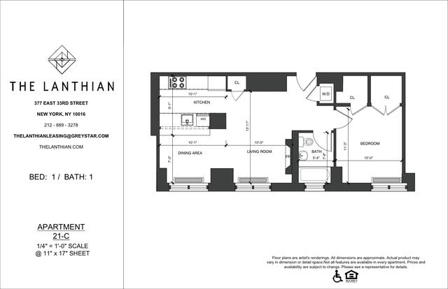 1 Bedroom, Kips Bay Rental in NYC for $3,942 - Photo 2