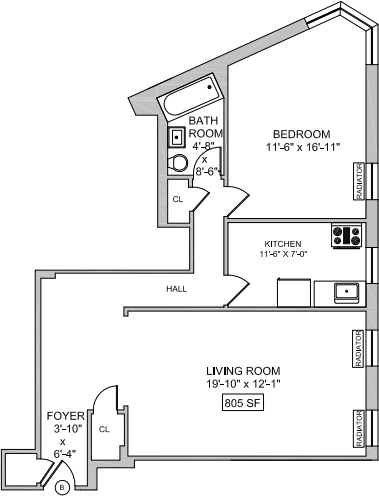 1 Bedroom, West Village Rental in NYC for $5,050 - Photo 2