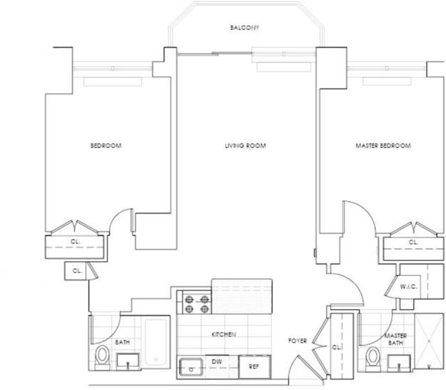 2 Bedrooms, Theater District Rental in NYC for $5,715 - Photo 2