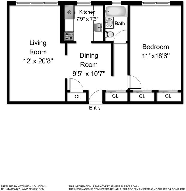 1 Bedroom, Kingsbridge Rental in NYC for $1,990 - Photo 2