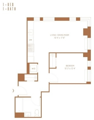 1 Bedroom, Lower East Side Rental in NYC for $3,906 - Photo 2
