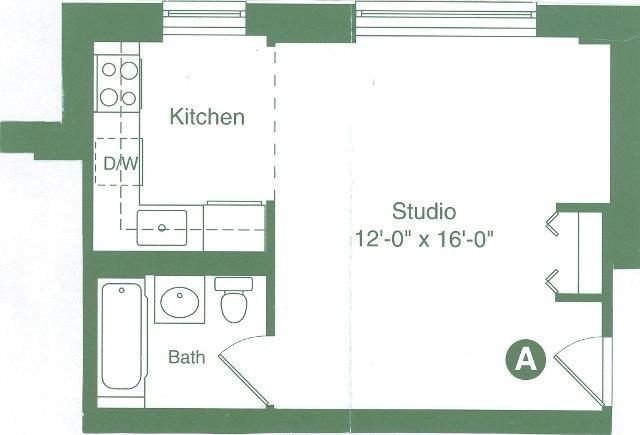 Studio, Flatiron District Rental in NYC for $3,245 - Photo 2