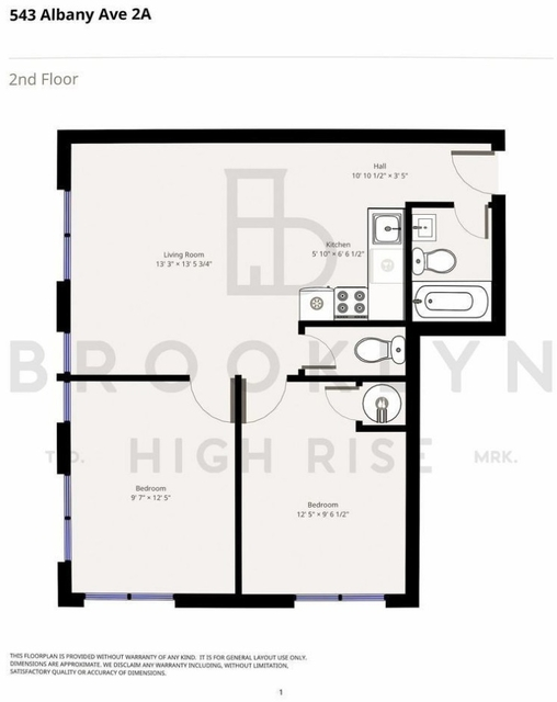 2 Bedrooms, Wingate Rental in NYC for $2,250 - Photo 2