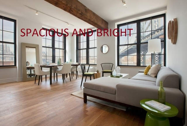 2 Bedrooms, DUMBO Rental in NYC for $5,014 - Photo 1