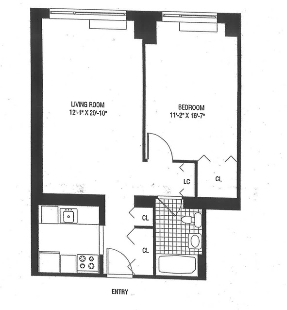 2 Bedrooms, Battery Park City Rental in NYC for $4,269 - Photo 2