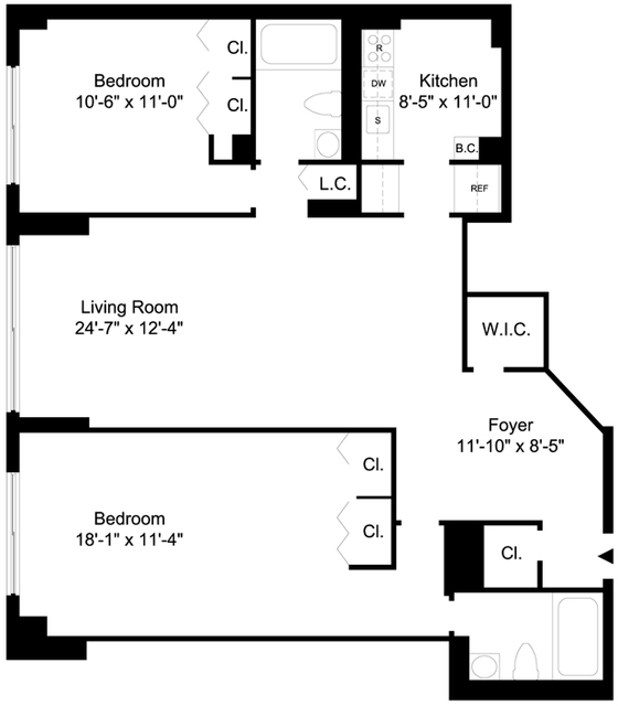 2 Bedrooms, Yorkville Rental in NYC for $4,500 - Photo 2