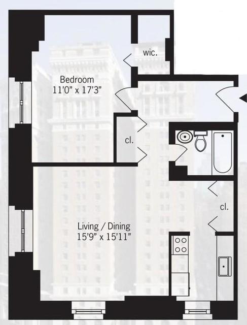 2 Bedrooms, Koreatown Rental in NYC for $3,450 - Photo 2