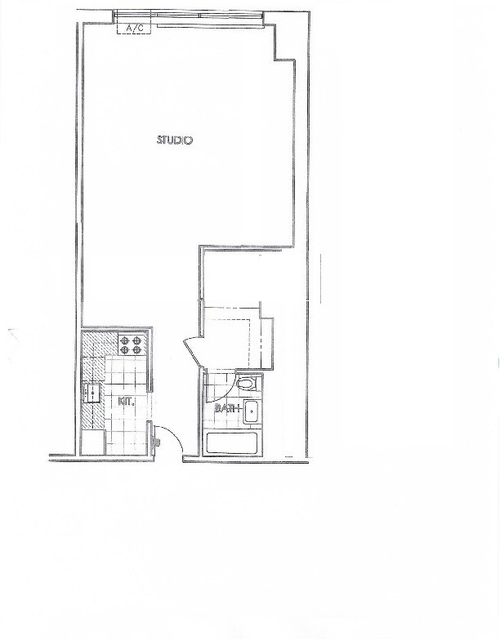 Studio, Upper West Side Rental in NYC for $2,600 - Photo 2