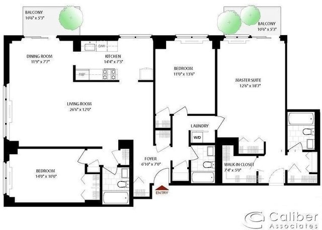 3 Bedrooms, Yorkville Rental in NYC for $10,000 - Photo 2