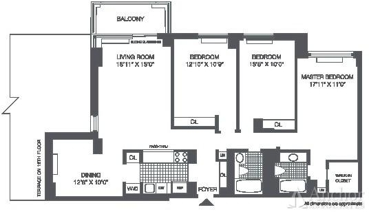 4 Bedrooms, Roosevelt Island Rental in NYC for $4,895 - Photo 2