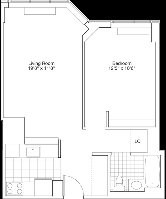 2 Bedrooms, Hell's Kitchen Rental in NYC for $3,683 - Photo 2