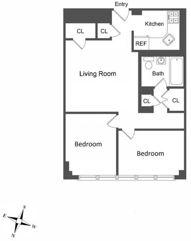 2 Bedrooms, Turtle Bay Rental in NYC for $3,094 - Photo 2