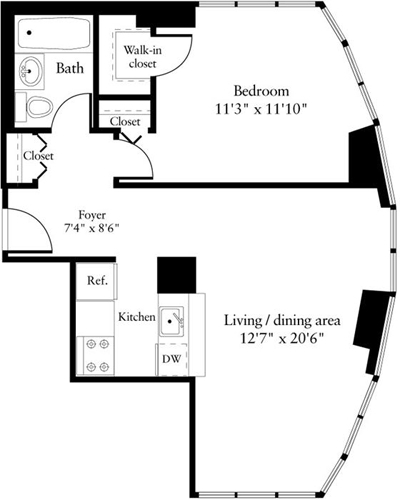 1 Bedroom, NoMad Rental in NYC for $4,880 - Photo 2