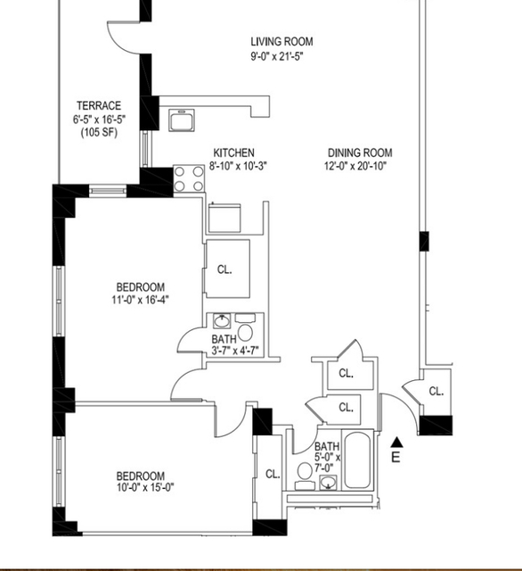 2 Bedrooms, Manhattan Valley Rental in NYC for $6,250 - Photo 2