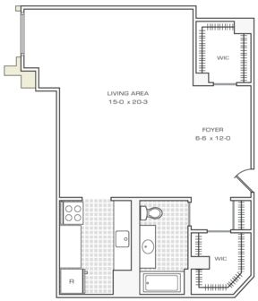 Studio, Financial District Rental in NYC for $2,295 - Photo 2