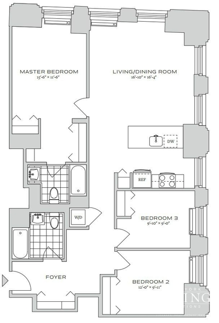3 Bedrooms, Financial District Rental in NYC for $6,847 - Photo 1