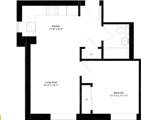 1 Bedroom, Washington Heights Rental in NYC for $1,995 - Photo 2
