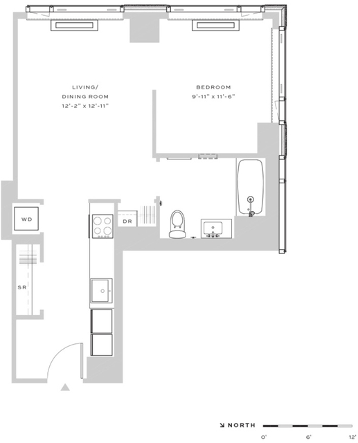 1 Bedroom, Downtown Brooklyn Rental in NYC for $2,975 - Photo 2