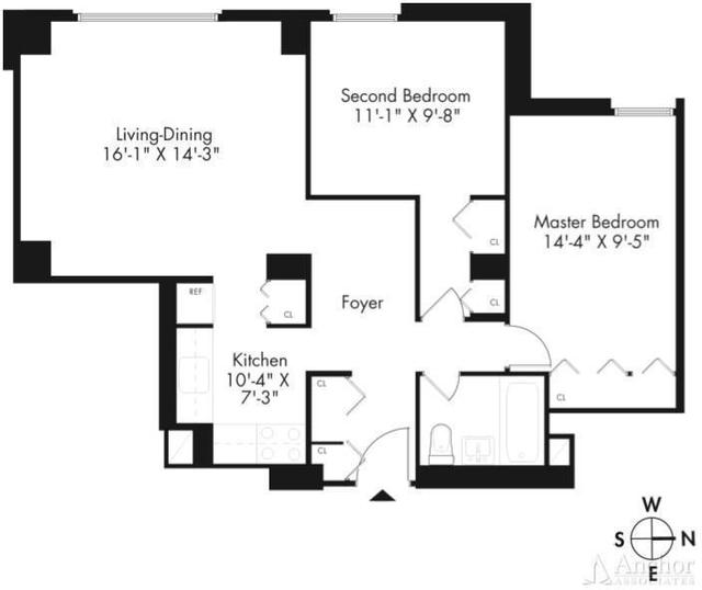 2 Bedrooms, Kips Bay Rental in NYC for $3,695 - Photo 2