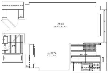 Studio, Sutton Place Rental in NYC for $2,746 - Photo 2