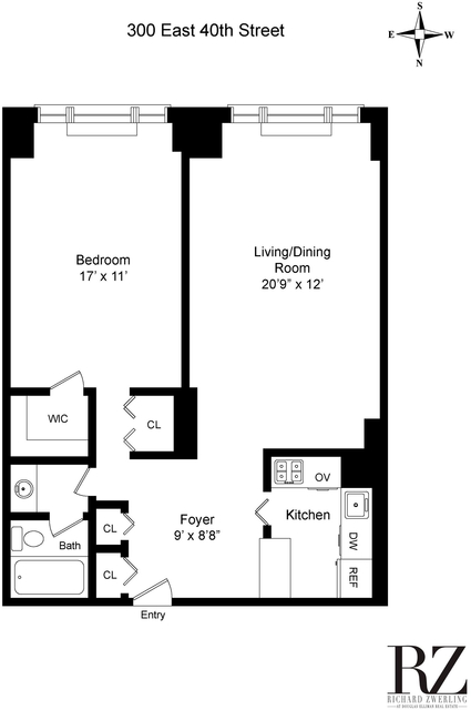 1 Bedroom, Murray Hill Rental in NYC for $3,112 - Photo 2
