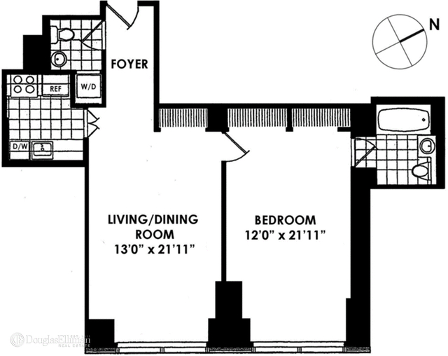 1 Bedroom, Turtle Bay Rental in NYC for $6,500 - Photo 2