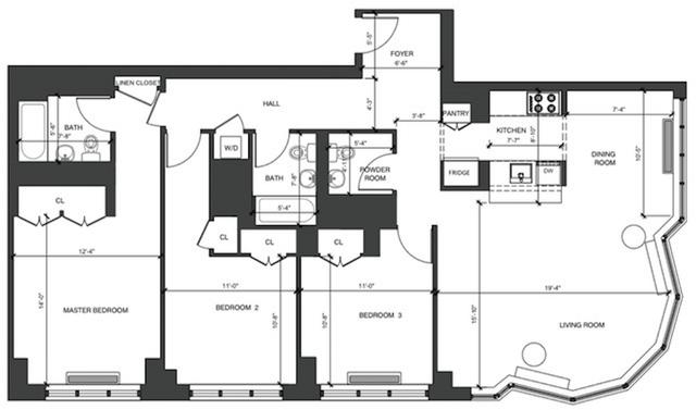 3 Bedrooms, Kips Bay Rental in NYC for $8,800 - Photo 2