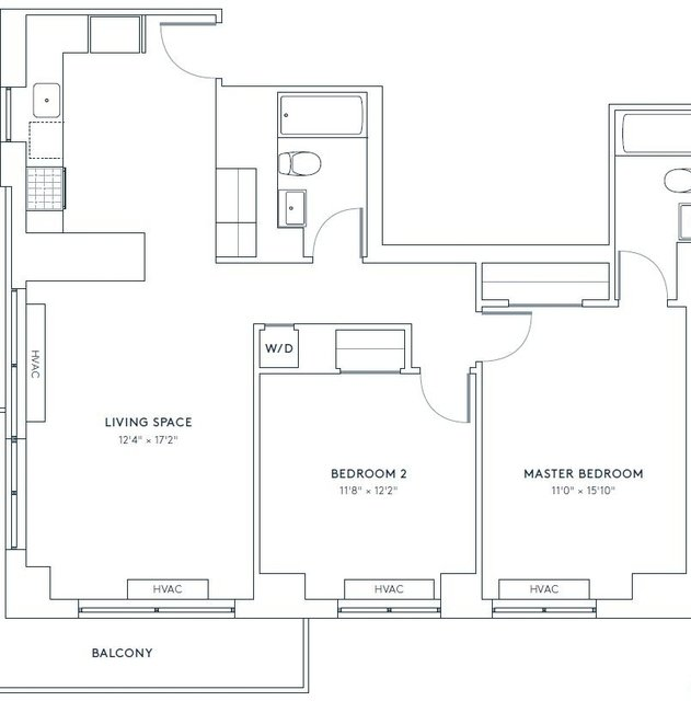 2 Bedrooms, Hell's Kitchen Rental in NYC for $6,980 - Photo 2